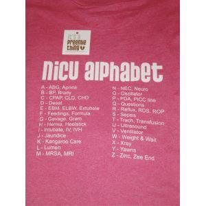 NICU Alphabet - It's a Preemie Thing
