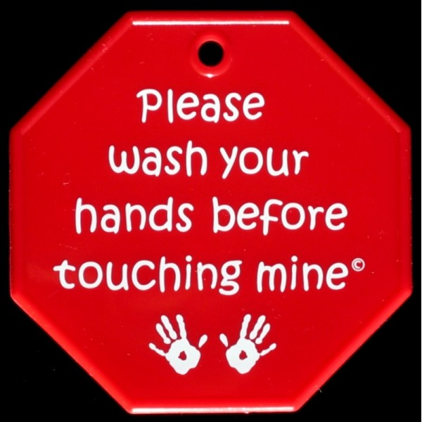 My Tiny Hands Stop Sign It S A Preemie Thing